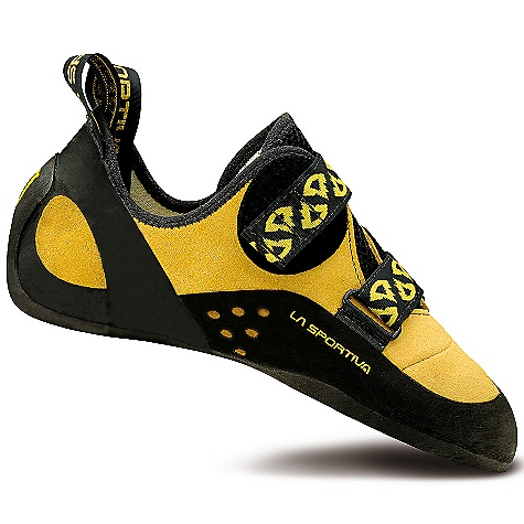 Climbing Free Shipping. La Sportiva Men's Katana Shoe DECENT FEATURES of the La Sportiva Men's Katana Shoe Highly adjustable opposing hook and loop closure for a precise fit Lorica toebox for optimum edging power Slingshot rand connected to the Powerhinge under the arch to control stretch The SPECS Weight: 7.87 oz / 223 g Construction: Slip Lasted Last: PD 55 The SPECS for Upper Lorica Leather The SPECS for Lining Pacific (forefoot) Dentex (back) The SPECS for Midsole 1.1mm full-length LaspoFlex The SPECS for Sole 4mm Vibram XS Edge This product can only be shipped within the United States. Please don't hate us. - $149.95