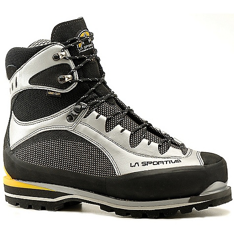 Extreme Free Shipping. La Sportiva Trango Extreme EVO Light GTX Boot DECENT FEATURES of the La Sportiva Trango Extreme EVO Light GTX Boot Innovative 3D Flex ankle for maneuverability Gore-Tex lining for waterproof warmth Lightweight for long days in the mountains The SPECS Weight: 30.51 oz / 865 g Construction: Board Lasted Last: Trango The SPECS for Upper Water-repellant Cordura with Idro-treatment Flex Tec 2 Water-repellant Lorica with Antiacqua external coating Double Vibram rubber rands The SPECS for Lining Gore-Tex Insulated Comfort Footwear The SPECS for Insole 9mm insulating Ibi-Thermo The SPECS for Midsole 6-7mm HP3 The SPECS for Sole Vibram Lavaredo (Sticky Supertrek Rubber) This product can only be shipped within the United States. Please don't hate us. - $419.95