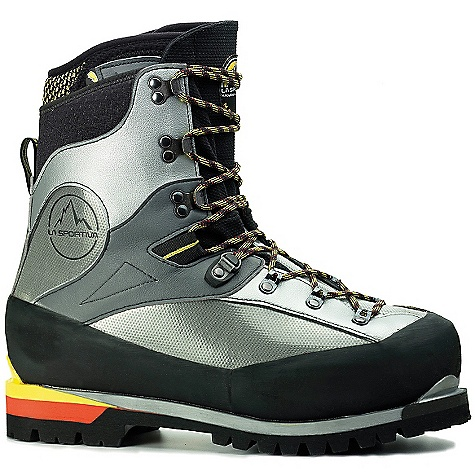 Free Shipping. La Sportiva Men's Baruntse Boot DECENT FEATURES of the La Sportiva Men's Baruntse Boot Equipped with a PU coated 2-layer PE insulating outer boot for durable warmth Low profile all synthetic outer boot will not absorb moisture Cordura coated inner boot with insulating high-density foam is super resilient and thermoformable The SPECS Weight: 44.7 oz / 1267 g Construction: Inner Boot: Slip Lasted, Outer Boot: Board Lasted Last: Nuptse The SPECS for Outer Boot Transparent PU Tech anti-abrasion film with high insulation expanded PE High density expanded PE insulating barrier and a thermoreflective aluminium layer with an anti-abrasion protective non-woven netting Synthetic micro-fiber High abrasion resistant Cordura Giugiaro lacing hardware The SPECS for Inner Boot Anti-abrasion Cordura Thermo-moldable 7mm high density insulating EVA The SPECS for Insole 6mm insulating Ibi-Thermo + PE insulating barrier and aluminium insulation The SPECS for Midsole 8-9mm TPU SBR Air Cushion The SPECS for Sole Vibram Montagna This product can only be shipped within the United States. Please don't hate us. - $624.95