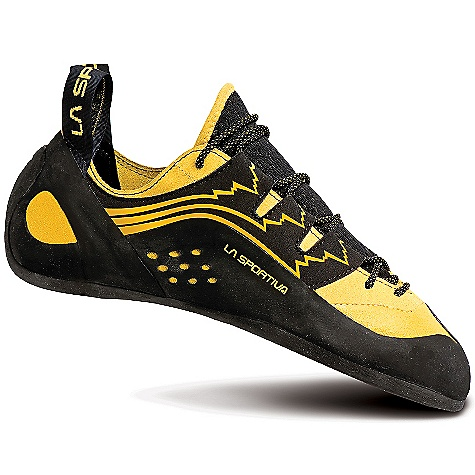 Climbing Free Shipping. La Sportiva Men's Katana Lace DECENT FEATURES of the La Sportiva Men's Katana Lace Lorica lacing harness for an exact, no stretch fit Lorica toebox for optimum edging power Highly breathable tongue works in conjunction with the lining for excellent moisture management The SPECS Weight: 8.71 oz / 247 g Construction: Slip Lasted Last: PD 55 The SPECS for Upper Lorica Leather The SPECS for Lining Pacific (forefoot and back) The SPECS for Midsole 1.1mm full-length LaspoFlex with P3 The SPECS for Sole 4mm Vibram XS Edge This product can only be shipped within the United States. Please don't hate us. - $164.95