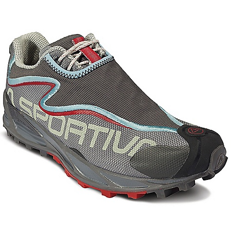 On Sale. Free Shipping. La Sportiva Women's Crosslite 2.0 DECENT FEATURES of the La Sportiva Women's Crosslite 2.0 Injection molded ergonomic EVA midsole creates a stable, lightweight, flexible platform Slip lasted construction hugs the foot with no dead spots and provides the best fit possible AirMesh upper is extremely resistant to debris and water while still providing maximum breathability The SPECS Weight: 8.28 oz / 235 g Construction: Midsole: 32A Last: Fit: Medium/Wide: Tempo 2 Ergo The SPECS for Upper AirMesh UreTech The SPECS for Lining Mesh (back half and tongue only) The SPECS for Midsole Memlex TPU stabilizer The SPECS for Sole Frixion AT Impact Brake System V-Groove The SPECS for Drop 10mm This product can only be shipped within the United States. Please don't hate us. - $75.99