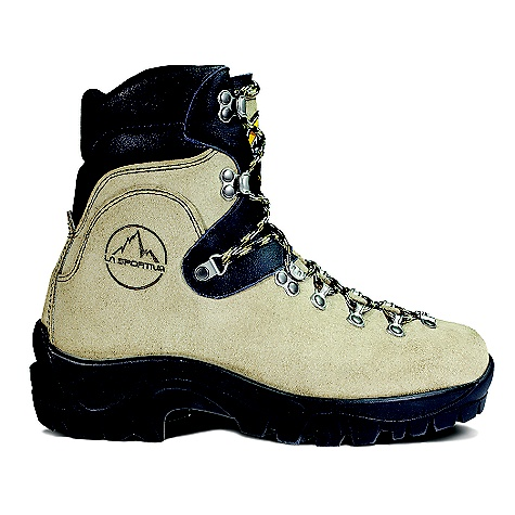Free Shipping. La Sportiva Glacier WLF Boot FEATURES of the La Sportiva Glacier WLF Boot Heat resistant sole with a rubber compound that is resistant to 300Adeg c and a glue resistant to 70Adeg c Extremely durable Idro-Perwanger Leather upper is water repellent Dry-Best(R) lining transports moisture away from the skin via an underlayer of 100% Hydrofil nylon which keeps your feet cool, dry and comfortable Mtnflex insole technology is a tapered Hytrel nylon insole with a full-length, Dacromet coated and tempered steel shank and carbon fiber reinforcing for added torsional rigidity Designed for light duty forest management work Minimum 8 inch height on all boots meets federal standards for wild land firefighting boots Not intended for frontline wildfire work - $279.95