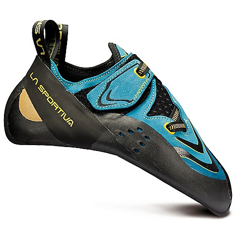Climbing Free Shipping. La Sportiva Men's Futura Shoe DECENT FEATURES of the La Sportiva Men's Futura Shoe New in.no edgesin. technology gives the maximum edging advantage right out of the box P3 technology lets you crank on overhangs and climb like a monkey Fast Lacing System from the Solution gives a snug precise fit Excellent sensitivity for extremely technical projects The SPECS Weight: 8 oz / 225 g Construction: Slip Lasted Last: PD 75 The SPECS for Upper Leather Synthetic Leather The SPECS for Lining Unlined The SPECS for Midsole 1.1 mm LaspoFlex (toe only) with P3 The SPECS for Sole 3mm Vibram XS Grip2 This product can only be shipped within the United States. Please don't hate us. - $179.95