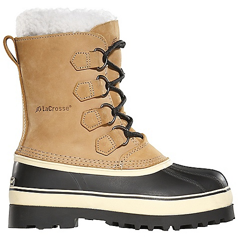 Free Shipping. Lacrosse Women's Ridgetop Boot DECENT FEATURES of the La Crosse Women's Ridgetop Boot Full-grain leather upper All natural, hand-crafted rubber bottom 100% waterproof bottom Removable 9.0mm felt liner Ridgetop outsole featuring a deep lug pattern for superior traction in snow and slush The SPECS Height: 10in. Weight: 4.6 lbs Lining: Removable Felt Liner - $109.95