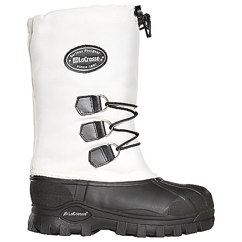 Free Shipping. Lacrosse Women's Whitney II Boot DECENT FEATURES of the La Crosse Women's Whitney II Boot 1000 Denier nylon upper All natural, hand-crafted rubber bottom 100% waterproof bottom Adjustable drawcord Removable 9.0mm felt liner Snow Grip outsole for superior traction in snow and slush The SPECS Height: 12in. Weight: 4.2 lbs Lining: Felt Liner - $99.95