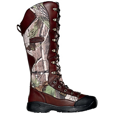 Camp and Hike Free Shipping. Lacrosse Men's Venom Boot DECENT FEATURES of the La Crosse Men's Venom Boot Full-grain leather upper with lightweight and rugged 1000 Denier nylon 360deg snake proof protection Lace-up design for an adjustable and secure fit Side zipper for easy on/off Abrasion resistant toe cap Scent-free and 100% waterproof Scent-Dry lining Internal antimicrobial membrane that fights odor-forming bacteria Removable dual-density PU footbed Thick, cushioning EVA midsole Low Country outsole for quick movement through snake country Extended sizing available for women The SPECS Height: 18in. Weight: 5.0 lbs Lining: Scent-Dry - $149.95