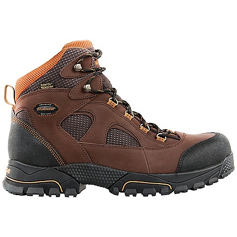 Free Shipping. Lacrosse Men's Gridline DC Boot DECENT FEATURES of the La Crosse Men's Gridline DC Boot Full-grain leather upper with lightweight and rugged Nylon Abrasion resistant toe and heel wrap 100% waterproof Dry-Core lining Removable PU footbed Fiberglass shank Gridline non-marking outsole featuring a 90deg heel and oil and slip resistant traction Extended sizing available for women The SPECS Height: 6in. Weight: 3.1 lbs Lining: Dry-Core Safety Standards: Meets Astm F2892-11 EH - $114.95