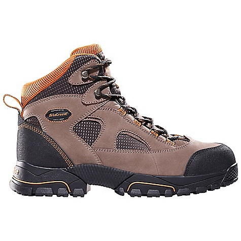 Free Shipping. Lacrosse Men's Gridline Safety Toe Boot DECENT FEATURES of the La Crosse Men's Gridline Safety Toe Boot Full-grain leather upper with lightweight and rugged Nylon Abrasion resistant toe and heel wrap Dual-density molded EVA footbed with memory foam top layer Fiberglass shank Gridline non-marking outsole featuring a 90deg heel and oil and slip resistant traction Extended sizing available for women The SPECS Height: 6in. Weight: 3.1 lbs Lining: Mesh Safety Standards: Steel Toe Meets or Exceeds Astm F2413-11 M I/75 C/75 EH - $104.95