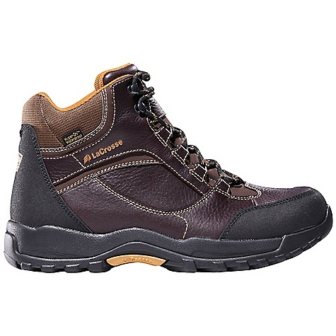 Free Shipping. Lacrosse Men's Quantum Plus Alloy Toe Boot DECENT FEATURES of the La Crosse Men's Quantum Plus Alloy Toe Boot Full-grain leather upper Abrasion resistant toe and heel wrap 100% waterproof Dry-Core lining Dual-density molded EVA footbed Quad Comfort technology featuring four layers of cushioning and support Nylon shank Quantum outsole featuring oil and slip resistant traction 30 day comfort guarantee The SPECS Height: 6in. Weight: 3.4 lbs Lining: Dry-Core Safety Standards: Alloy Toe Meets or Exceeds Astm F2413-11 M I/75 C/75 EH - $139.95