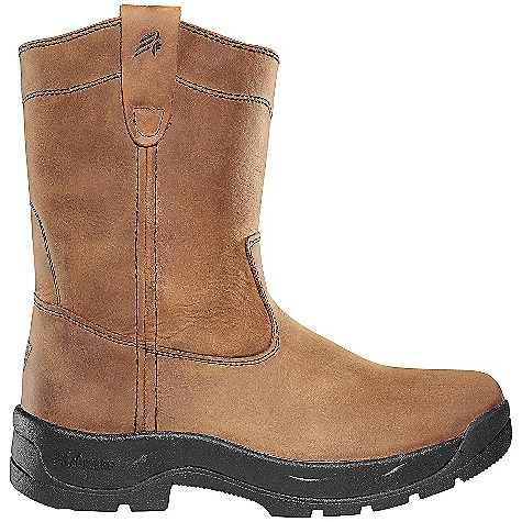 Free Shipping. Lacrosse Men's Wellington QC Boot DECENT FEATURES of the La Crosse Men's Wellington QC Boot Full-grain leather upper with pull straps Quad Comfort footbed Quad Comfort technology featuring four layers of cushioning and support Nylon shank Quad 90 outsole featuring a 90deg heel and oil and slip resistant traction 30 day comfort guarantee The SPECS Height: 11in. Weight: 3.1 lbs - $129.95