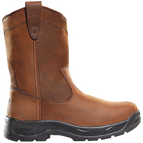 Free Shipping. Lacrosse Men's Wellington QC Steel Toe Boot DECENT FEATURES of the La Crosse Men's Wellington QC Steel Toe Boot Full-grain leather upper with pull straps Quad Comfort footbed Quad Comfort technology featuring four layers of cushioning and support Nylon shank Quad 90 outsole featuring a 90deg heel and oil and slip resistant traction 30 day comfort guarantee The SPECS Height: 11in. Weight: 3.9 lbs Safety Standards: Steel Toe Meets or Exceeds Astm F2413-05 M I/75 C/75 EH - $134.95