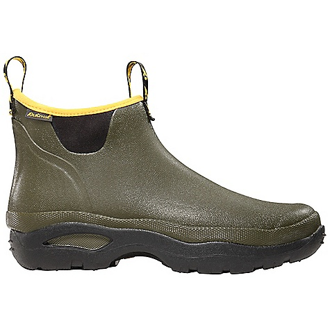 Free Shipping. Lacrosse Men's Hampton Boot DECENT FEATURES of the La Crosse Men's Hampton Boot All natural, hand-crafted rubber over insulating neoprene Uncompromising fit and waterproof protection from La Crosse Alpha Construction Pull straps Thick, cushioning EVA footbed Aqua outsole for all day comfort The SPECS Height: 6in. Weight: 2.5 lbs Insulation: 3.0mm neoprene Lining: Nylon - $89.95