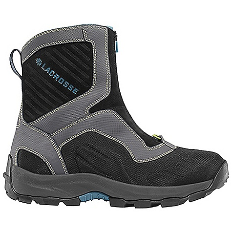 Free Shipping. Lacrosse Women's Onalaska Zip Boot DECENT FEATURES of the La Crosse Women's Onalaska Zip Boot Abrasion resistant leather with lightweight and rugged nylon upper Moisture wicking comfort collar padding Ice Shield technology provides insulating warmth with waterproof abrasion resistant protection Gaitor loop 400G insulation Layered insulating footbed Thick, cushioning EVA midsole Trempalo outsole design for athletic performance and superior traction on snow and ice The SPECS Temperature Rating: -40deg F Height: 7in. Weight: 2.8 lbs Lining: Polyester Insulations: 400 G - $149.95