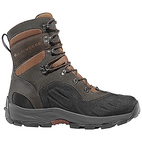 Free Shipping. Lacrosse Men's Onalaska Lace Boot DECENT FEATURES of the La Crosse Men's Onalaska Lace Boot Abrasion resistant leather with lightweight and rugged nylon upper Moisture wicking comfort collar padding Ice Shield technology provides insulating warmth with abrasion resistant protection Gaitor loop 800G insulation Layered insulating footbed Thick, cushioning EVA midsole Trempalo outsole design for athletic performance and superior traction on snow and ice Ice Shield technology provides insulating warmth with waterproof and abrasion resistant protection The SPECS Temperature Rating: -80deg F Weight: 3.7 lbs Lining: Polyester Insulations: 800 G - $159.95