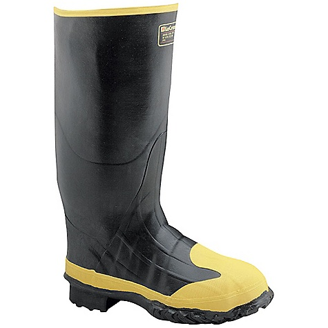 Free Shipping. Lacrosse Men's Meta 16 Inch Boot DECENT FEATURES of the La Crosse Men's Meta 16 Inch Boot All natural, hand-crafted ZXT ozone and tear resistant rubber Uncompromising waterproof protection Safety toe and metatarsal guard protection Removable EVA footbed Puncture resistant midsole Fiberglass shank Trac-Lite outsole featuring slip resistant traction The SPECS Height: 16in. Weight: 6.6 lbs Lining: Nylon Safety Standards: Steel Toe, Steel Midsole And Full Metatarsal Guard Meets or Exceeds Astm F2413-11 M I/75 C/75 MT EH PR - $139.95