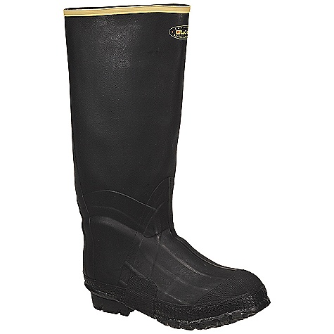 Free Shipping. Lacrosse Men's ZXT Insulated Knee Boot DECENT FEATURES of the La Crosse Men's ZXT Insulated Knee Boot All natural, hand-crafted ZXT ozone and tear resistant rubber Uncompromising waterproof protection Double layer abrasion resistant toe guard and shovel arch protection Available with polymeric foam insulation and 9.0mm felt insole Removable EVA footbed Fiberglass shank Trac-Lite outsole featuring slip resistant traction The SPECS Height: 16in. Weight: 4.5 lbs Insulation: FOAM Lining: Nylon Safety Standards: Meets Astm F2892-11 EH - $93.95