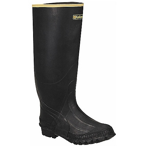 Free Shipping. Lacrosse Men's ZXT Knee Boot DECENT FEATURES of the La Crosse Men's ZXT Knee Boot All natural, hand-crafted ZXT ozone and tear resistant rubber Uncompromising waterproof protection Double layer abrasion resistant toe guard and shovel arch protection Removable EVA footbed Fiberglass shank Trac-Lite outsole featuring slip resistant traction The SPECS Height: 16in. Weight: 4.0 lbs Lining: Nylon Safety Standards: Meets Astm F2892-11 EH - $83.95