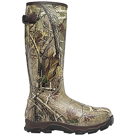 Hunting Free Shipping. Lacrosse Men's 4xBurly 1200G Boot DECENT FEATURES of the La Crosse Men's 4xBurly 1200G Boot All natural, hand-crafted rubber Uncompromising scent-free and waterproof protection Contoured Ankle-Fit design to prevent heel slippage Adjustable back gusset and strap with adjustable fit for various leg sizes Added rubber abrasion protection in toe, heel and shin Available with various levels of Thinsulate Ultra Insulation Dual-density molded PU and sponge-rubber footbed Quad-Core technology featuring four layers of cushioning and support Three layer sponge-rubber midsole 4xBurly outsole for superior traction in snow, mud and loose terrain The SPECS Height: 18in. Weight: 6.5 lbs Lining: Nylon Temperature Rating: -50deg F Insulation: 1200G Thinsulate ultra - $129.95