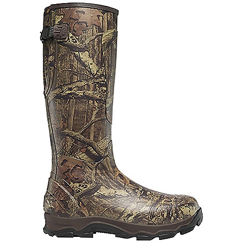 Hunting Free Shipping. Lacrosse Men's 4xBurly 800G Boot DECENT FEATURES of the La Crosse Men's 4xBurly 800G Boot All natural, hand-crafted rubber Uncompromising scent-free and waterproof protection Contoured Ankle-Fit design to prevent heel slippage Adjustable back gusset and strap with adjustable fit for various leg sizes Added rubber abrasion protection in toe, heel and shin Available with various levels of Thinsulate Ultra Insulation Dual-density molded PU and sponge-rubber footbed Quad-Core technology featuring four layers of cushioning and support Three layer sponge-rubber midsole 4xBurly outsole for superior traction in snow, mud and loose terrain The SPECS Height: 18in. Weight: 6.2 lbs Insulation: 800G Thinsulate ultra Lining: Nylon Temp Rating: -50deg F - $119.95