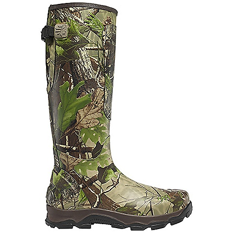 Hunting Free Shipping. Lacrosse Men's 4xBurly Boot DECENT FEATURES of the La Crosse Men's 4xBurly Boot All natural, hand-crafted rubber Uncompromising scent-free and waterproof protection Contoured Ankle-Fit design to prevent heel slippage Adjustable back gusset and strap with adjustable fit for various leg sizes Added rubber abrasion protection in toe, heel and shin Available with various levels of Thinsulate Ultra Insulation Dual-density molded PU and sponge-rubber footbed Quad-Core technology featuring four layers of cushioning and support Three layer sponge-rubber midsole 4xBurly outsole for superior traction in snow, mud and loose terrain The SPECS Height: 18in. Weight: 5.5 lbs Lining: Nylon Temp Rating: -40deg F - $109.95