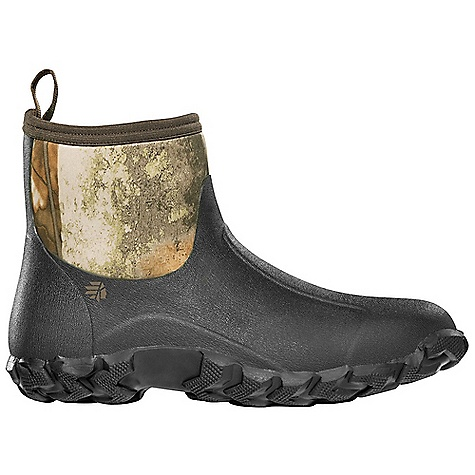Hunting Free Shipping. Lacrosse Men's Alpha Mudlite Moc Boot DECENT FEATURES of the La Crosse Men's Alpha Mudlite Moc Boot All natural, hand-crafted rubber over insulating neoprene Uncompromising fit, scent-free and waterproof protection from La Crosse Alpha Construction Removable EVA footbed Mudlite Moc outsole for excellent traction in mud The SPECS Height: 7in. Weight: 2.8 lbs Insulation: 3.5mm neoprene Lining: Nylon - $89.95