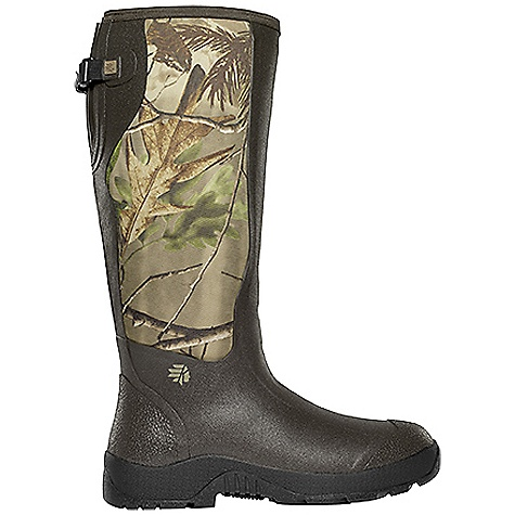 Hunting Free Shipping. Lacrosse Men's Alpha Mudlite Snake Boot DECENT FEATURES of the La Crosse Men's Alpha Mudlite Snake Boot All natural, hand-crafted rubber over insulating neoprene Uncompromising fit, scent-free and waterproof protection from La Crosse Alpha Construction 360deg snake proof protection Abrasion resistant protection from a polyester material Adjustable back gusset and strap Shin guard for climbing protection Contoured Ankle-Fit design to prevent heel slippage Air circulation inside the boot from La Crosse Aircirc system Removable EVA footbed Non-exposed floatable shock absorbing midsole Mudlite rubber cup outsole featuring slip resistant traction The SPECS Height: 18in. Weight: 5.25 lbs Insulation: 3.5mm neoprene Lining: Breathable mesh Temp Rating: -20deg to 80deg F - $159.95