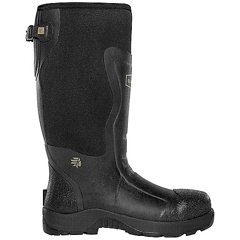 Hunting Free Shipping. Lacrosse Men's Alpha Mudlite 16 Inch Boot DECENT FEATURES of the La Crosse Men's Alpha Mudlite 16 Inch Boot All natural, hand-crafted rubber over 5.0mm insulating neoprene Uncompromising fit and waterproof protection from La Crosse Alpha Construction Abrasion resistant protection from La Crosse Brush Tuff bi-directional material Available with adjustable back gusset and strap Contoured Ankle-Fit design to prevent heel slippage Air circulation inside the boot from La Crosse Aircirc system Removable EVA footbed Non-exposed floatable rubber shock absorbing midsole Mudlite rubber cup outsole featuring oil and slip resistant traction The SPECS Temperature Rating: -40 to 70 F Height: 16in. Weight: 5.6 lbs Insulation: 5.0mm neoprene Lining: Breathable Mesh Safety Standards: Meets Astm F2892-11 EH - $139.95