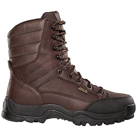 Hunting Free Shipping. Lacrosse Men's Big Country 400G Boot DECENT FEATURES of the La Crosse Men's Big Country 400G Boot Full-grain leather upper with lightweight and rugged 900 Denier nylon Abrasion resistant toe cap Scent-free and 100% waterproof Scent-Dry lining Internal antimicrobial membrane that fights odor-forming bacteria Available with various levels of Thinsulate Ultra Insulation Removable PU footbed Quad-Core technology featuring four layers of cushioning and support QCH outsole featuring a rugged lug pattern for superior traction in mountainous terrain The SPECS Height: 8in. Weight: 3.4 lbs Insulation: 400G thinsulate ultra Lining: Scent-Dry - $114.95