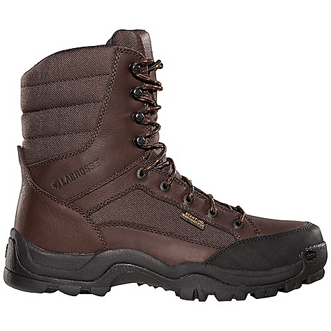 Hunting Free Shipping. Lacrosse Men's Big Country Boot DECENT FEATURES of the La Crosse Men's Big Country Boot Full-grain leather upper with lightweight and rugged 900 Denier nylon Abrasion resistant toe cap Scent-free and 100% waterproof Scent-Dry lining Internal antimicrobial membrane that fights odor-forming bacteria Available with various levels of Thinsulate Ultra Insulation Removable PU footbed Quad-Core technology featuring four layers of cushioning and support QCH outsole featuring a rugged lug pattern for superior traction in mountainous terrain The SPECS Height: 8in. Weight: 3.2 lbs Lining: Scent-Dry - $104.95