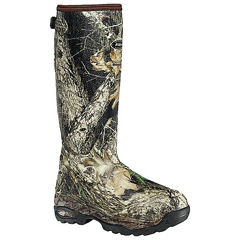 Hunting Free Shipping. Lacrosse Men's Alphaburly 18 Inch 1000G Insulated Sport Boot DECENT FEATURES of the La Crosse Men's Alphaburly 18 Inch 1000G Insulated Sport Boot All natural, hand-crafted rubber over insulating neoprene Uncompromising fit, scent-free and waterproof protection from La Crosse Alpha Construction Contoured Ankle-Fit design to prevent heel slippage Adjustable back gusset and strap Available with various levels of Thinsulate Ultra Insulation Thick, cushioning EVA midsole Removable EVA footbed Treestand outsole featuring superior traction and stability with no mud build up The SPECS Height: 18in. Weight: 4.0 lbs Insulation: 1000G Thinsulate ultra Lining: Fleece Temp Rating: -60deg F - $193.95