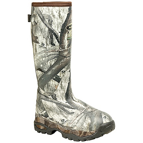 Hunting Free Shipping. Lacrosse Men's Alphaburly 18 Inch 1500G Insulated Sport Boot DECENT FEATURES of the La Crosse Men's Alphaburly 18 Inch 1500G Insulated Sport Boot All natural, hand-crafted rubber over insulating neoprene Uncompromising fit, scent-free and waterproof protection from La Crosse Alpha Construction Contoured Ankle-Fit design to prevent heel slippage Adjustable back gusset and strap Available with various levels of Thinsulate Ultra Insulation Thick, cushioning EVA midsole Removable EVA footbed Treestand outsole featuring superior traction and stability with no mud build up The SPECS Height: 18in. Weight: 4.0 lbs Insulation: 1500G Thinsulate ultra Lining: Fleece Temp Rating: -70deg F - $197.95