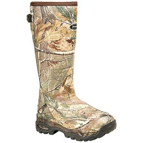 Hunting Free Shipping. Lacrosse Men's Alphaburly 18 Inch 800G Insulated Sport Boot DECENT FEATURES of the La Crosse Men's Alphaburly 18 Inch 800G Insulated Sport Boot All natural, hand-crafted rubber over insulating neoprene Uncompromising fit, scent-free and waterproof protection from La Crosse Alpha Construction Contoured Ankle-Fit design to prevent heel slippage Adjustable back gusset and strap Available with various levels of Thinsulate Ultra Insulation Thick, cushioning EVA midsole Removable EVA footbed Treestand outsole featuring superior traction and stability with no mud build up The SPECS Height: 18in. Weight: 4.0 lbs Insulation: 800G Thinsulate ultra Lining: Fleece Temp Rating: -60deg F - $181.95