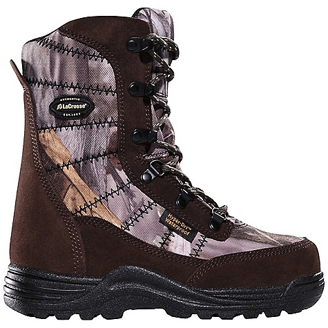 Hunting Free Shipping. Lacrosse Kids' Silencer Boot DECENT FEATURES of the La Crosse Kids' Silencer Boot Suede leather with lightweight and rugged 1000 Denier nylon upper Comfort collar padding 100% waterproof Dry-Core lining Removable EVA footbed 800G Thinsulate Ultra Insulation La Crosse Tracks outsole specifically designed for stalking The SPECS Height: 8in. Weight: 2.5 lbs Insulation: 800g Thinsulate Ultra Lining: Dry -Core - $64.95