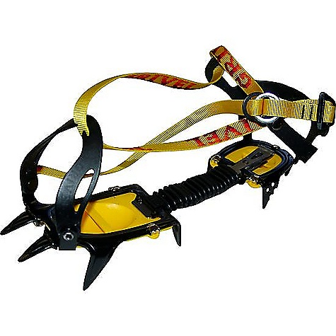 Climbing Free Shipping. Grivel G10 New Classic Crampon Package The SPECS for the G10 New Classic Crampon Package by Grivel N Points: 10 Material: Chromolly steel 3D Stamp: Yes Front Points: 2 Rigid/Semirigid: Semi-rigid Asymetric: Yes Weight: 29 oz. Boot Size: 35-46 Binding System: New Classic Antibott: Included - $139.95