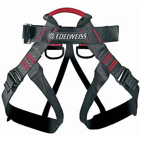 Climbing Edelweiss Challenge Sit Harness The SPECS Type: D Chest: 75-115 cm Weight: 350 g Material: Polyamid - $44.95