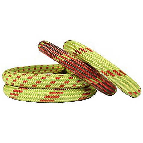 Climbing Free Shipping. Edelweiss Curve 9.8mm Rope The SPECS Impact Force Factor 1.77: 8.1 kN Nb of Falls Factor 1.77: 9 First Fall Elongation: 37% Static Elongation: 9.4% Sheath Slippage: 0.0 mm Weight: 61 g/m Material: Polyamide - $179.95