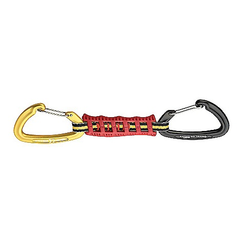 Climbing Free Shipping. Grivel Gamma Quick Easy Quickdraw - 5 Pack DECENT FEATURES of the Grivel Gamma Quick Easy Quickdraw - 5 Pack Built with Gamma wiregate carabiners on both ends Each end is color coded so you can remember to always clip the same end to the bolt Keeps your rope end smooth It is easy to grab and comfortable to handle - $94.95