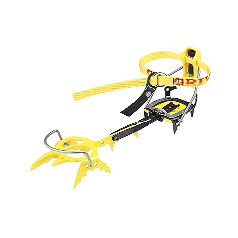 Climbing Free Shipping. Grivel G20 Cramp-O-Matic Crampons DECENT FEATURES of the Grivel G20 Cramp-O-Matic Crampons A well known system which relies on a nylon speed lever in the rear Stainless steel front bale to hold the boot Quick to put on Perfect for plastic mountaineering boots that have a rigid sole and substantial heel and toe welts The stainless steel safety strap, which was invented by Grivel, is permanently mounted on the front bale Prevents total loss of the crampon should it be forced off the boot - $214.95