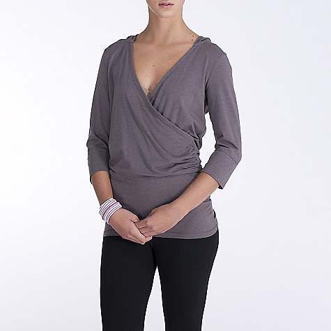 On Sale. Free Shipping. Lole Women's Meditation 2 Tunic DECENT FEATURES of the Lole Women's Meditation 2 Tunic Tunic with crossover neckline and hood 3/4 sleeve Gathers at sides Reflective logo Length: 27 1/2in. / 70 cm - $40.99