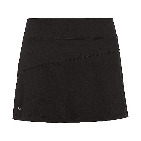 On Sale. Free Shipping. Lole Women's Game Skort DECENT FEATURES of the Lole Women's Game Skort Skort with asymmetrical cut at front and back Hidden pocket at waistband Inside short with flat seams and lined gusset Reflective logo Length: 13in. / 33 cm - $31.99