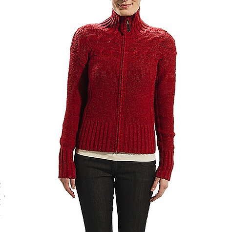 On Sale. Free Shipping. Lole Women's Cuddle 2 Cardigan DECENT FEATURES of the Lole Women's Cuddle 2 Cardigan Long sleeve sweater with full zip Stand-up collar Cable knit at front Drop shoulder Rib at side seam, underarm, cuffs and hem Length: 24in. / 61 cm - $76.99