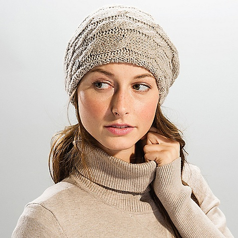 Entertainment On Sale. Lole Women's Cable Beret DECENT FEATURES of the Lole Women's Cable Beret 45% acrylic/20% nylon/18% lambswool/ 17% cotton Gauge: 5gg Lole's heavy knitwear line - $23.99