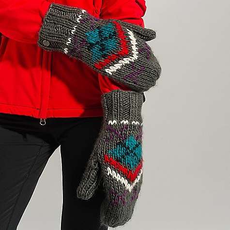 On Sale. Lole Women's Jacquard Mitt DECENT FEATURES of the Lole Women's Jacquard Mitt 45% acrylic/20% nylon/18% lambswool/ 17% cotton Gauge: 5gg Lole's heavy knitwear line - $19.99