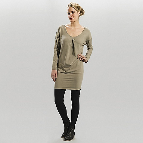 Entertainment Free Shipping. Lole Women's Holiday DECENT FEATURES of the Lole Women's Holiday Long sleeve dress Dropped shoulders Round neckline with pleat at front Fashion fit Length: 35in. / 89 cm - $89.95