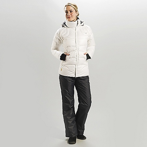 Free Shipping. Lole Women's Mandy DECENT FEATURES of the Lole Women's Mandy Quilted jacket with center front zip Stand-up collar Attached adjustable hood 2 hand zip pockets Hand gaiters Downglow 600 insulation Length: 29in. / 73.5 cm - $329.95