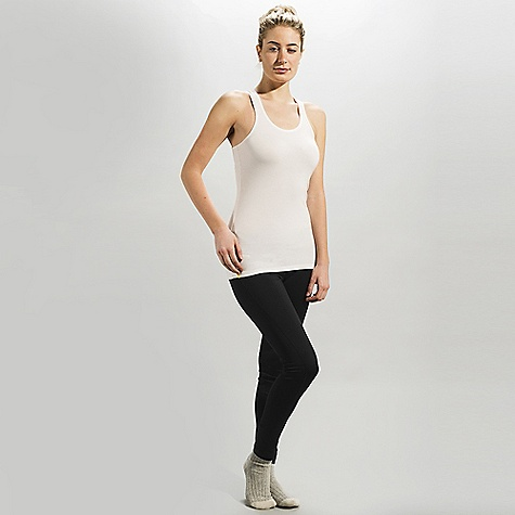 Lole Women's Pinnacle DECENT FEATURES of the Lole Women's Pinnacle Sleeveless top with racer back Raw-edge binding at neckline and armhole Length: 27in. / 68.5 cm - $29.95
