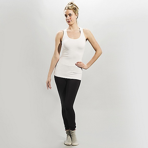 Surf Lole Women's Twist Tank Top DECENT FEATURES of the Lole Women's Twist Top Tank top with scooped neckline MP3 pocket at back Flat seams for comfort Reflective logo Length: 26in. / 66 cm - $47.95
