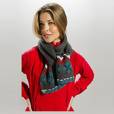 Lole Women's Jacquard Scarf The Lole Women's Jacquard Scarf The Specs Fabric: 45% acrylic/20% nylon/18% lambswool/ 17% cotton - $39.95