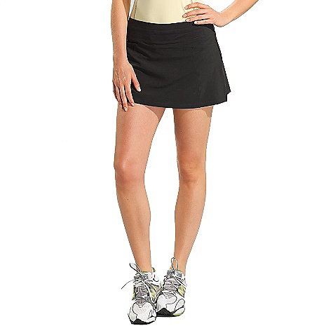 Free Shipping. Lole Women's Sprint Skort DECENT FEATURES of the Lole Women's Sprint Skort 2nd Skin waistband Inside shorts with flat seams and lined gusset Zip pocket at front Reflective logo Length: 14 inches - $64.95