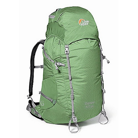 On Sale. Free Shipping. Lowe Alpine Zepton ND 50 Pack FEATURES of the Zepton ND 50 Pack by Lowe Alpine Super lightweight pack that still carries well ND back system for women Lightweight but durable Dyneema fabric body Lightweight version of AdaptiveFit hipbelt ensuring maximum comfort 10mm web reduces weight with no loss of function Airflow mesh in back panel reduces moisture build up Extra external lashing points Large stretch side pockets Key clip Lid lash points SOS panel Secure internal lid pocket Unique walking pole tip grabbers for secure storage Reflective logos Hydration pocket Ventilating harness SPECIFICATIONS: Volume: 50 lt / 3000 cu in Weight: 1.10 kg. / 2 lb. 7 oz. Fabric: DYNEEMA Back Length: 16in. - 41 cm Load Zone: 10-15 kg. / 22-33 lb. - $139.99